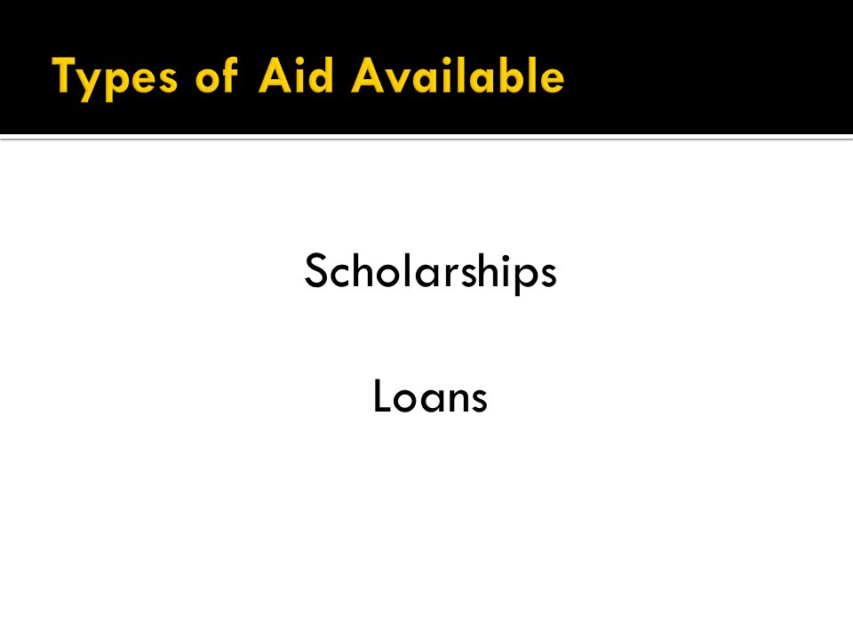 55% of our students utilize these loans.