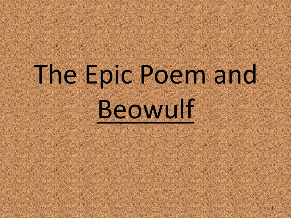 Epic Poems An epic is a lengthy narrative poem, ordinarily concerning a serious subject containing details of heroic deeds and events significant to a culture or nation.