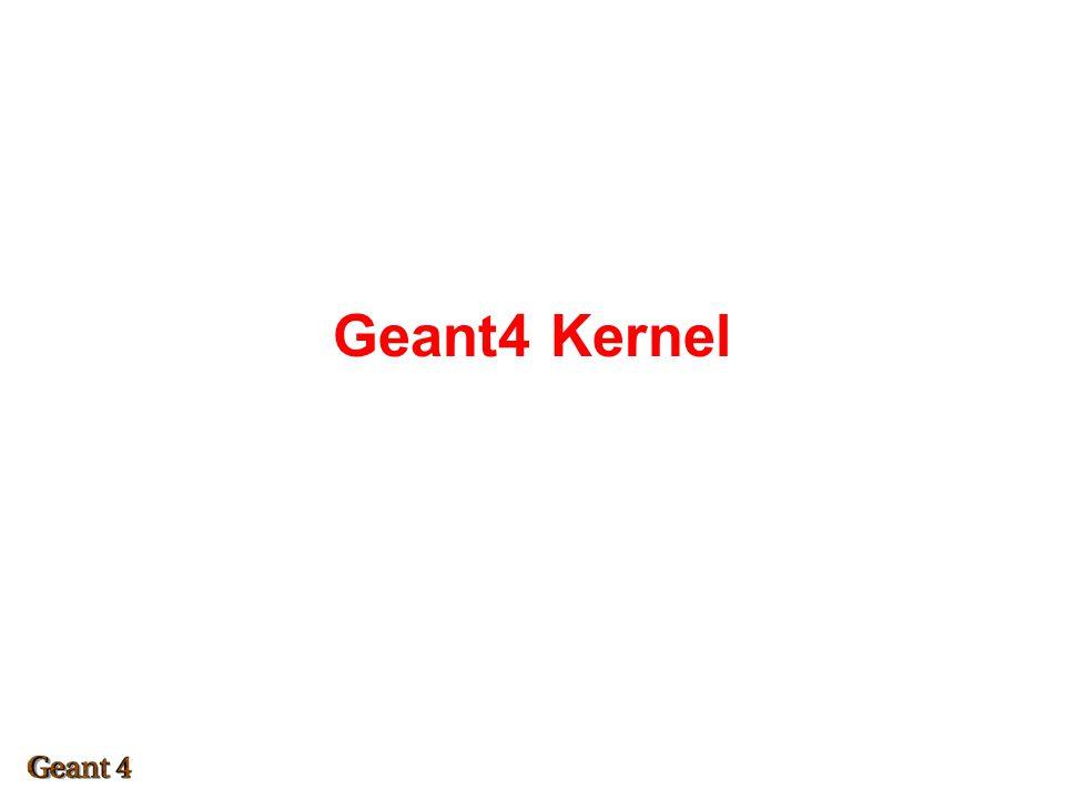 Geant4 Kernel