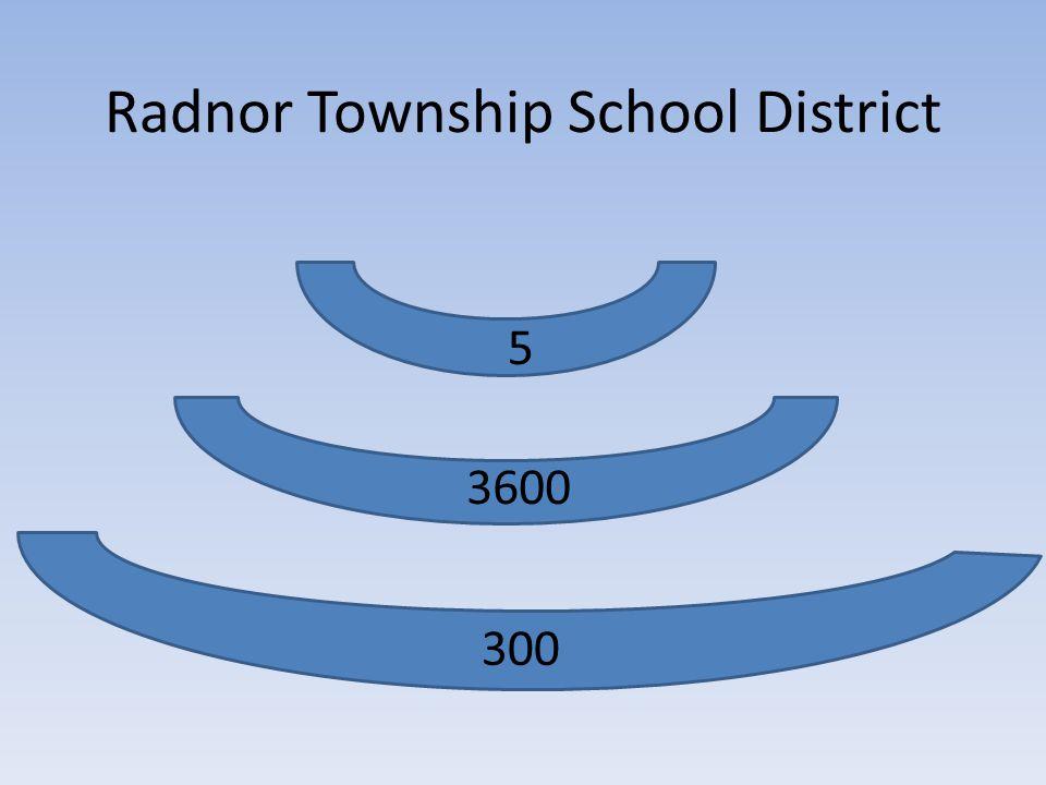300 3600 5 Radnor Township School District