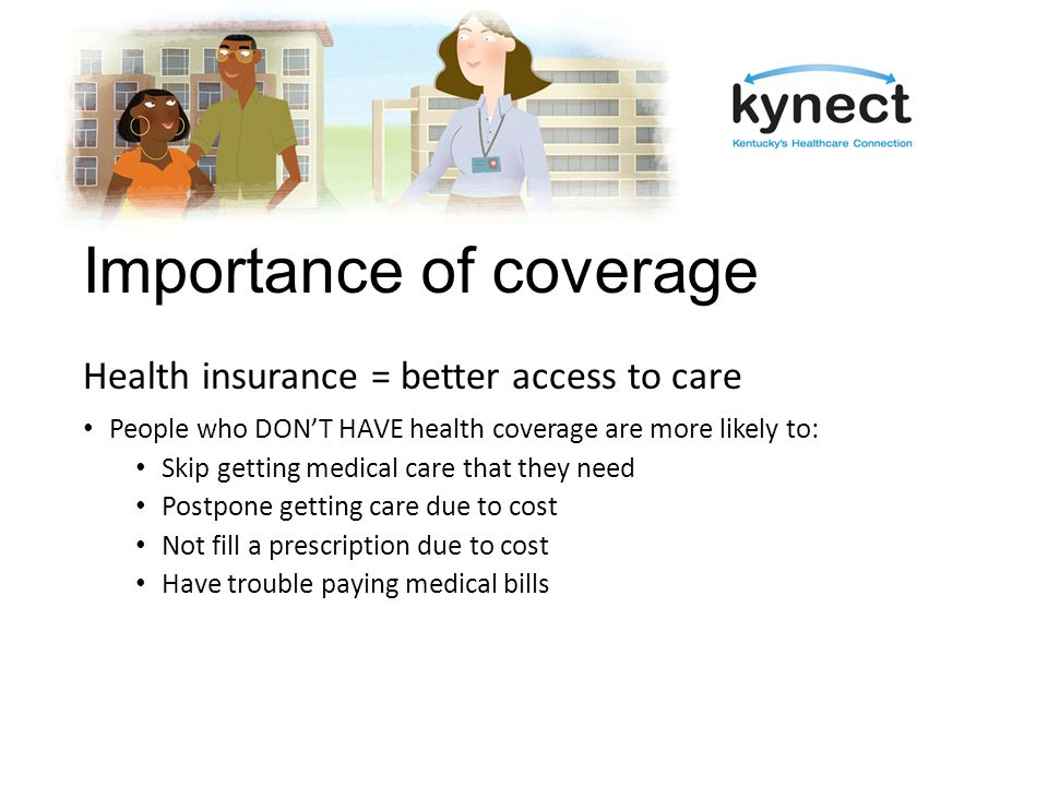 Enrolling in kynect One streamlined application for: Qualified Health Plans – Insurance Affordability Programs Medicaid KCHIP Apply: online, by phone, by mail or in-person Open Enrollment through March 31, 2014
