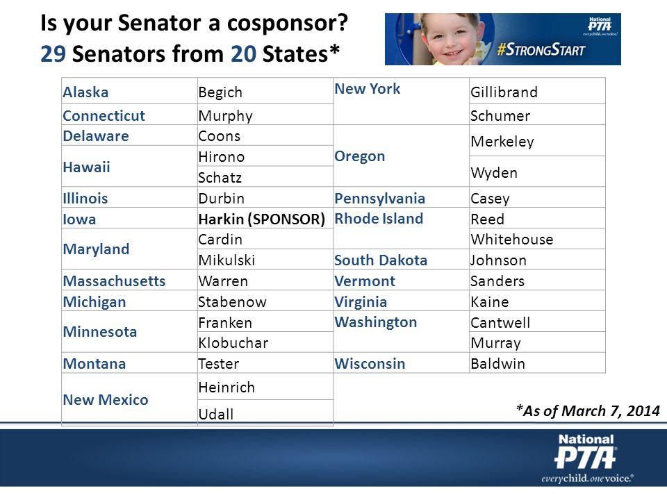Is your Senator a cosponsor.