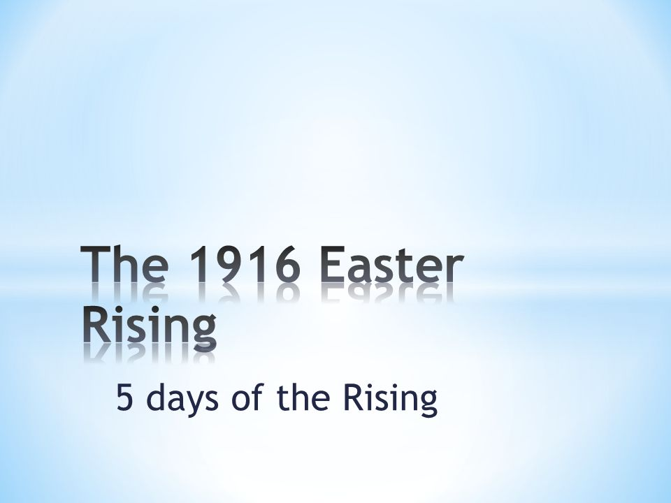5 days of the Rising