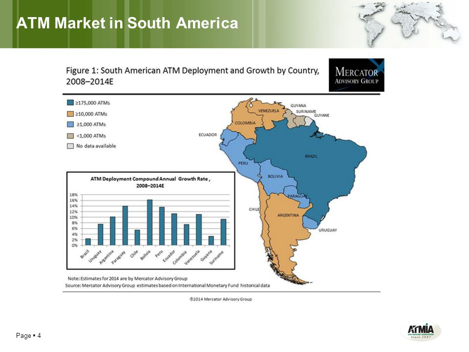 ATM Market in South America Page  4