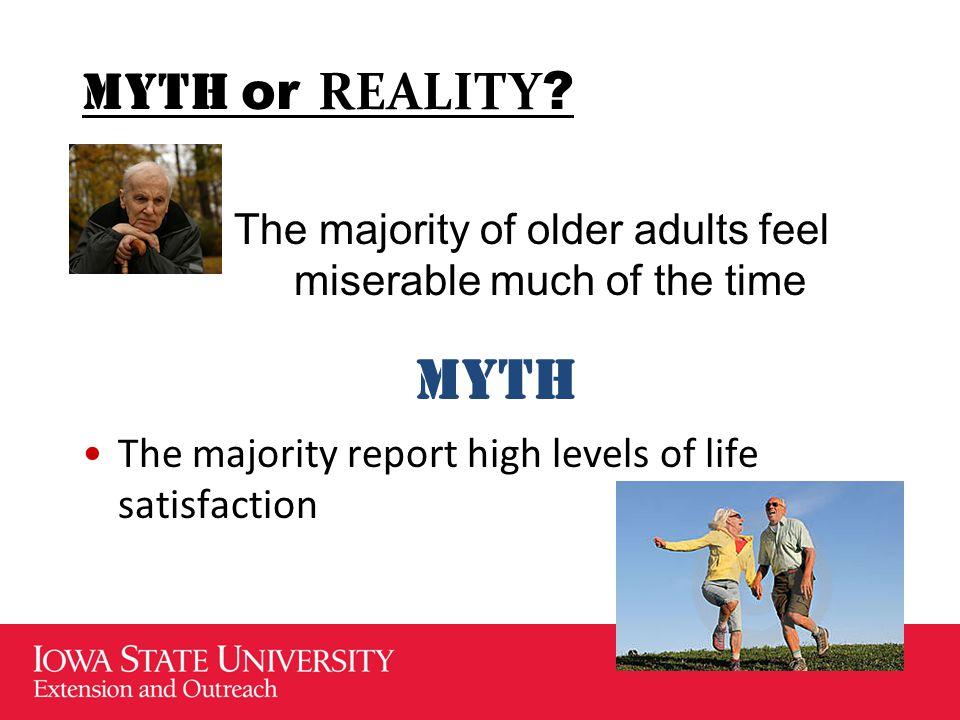 MYTH or REALITY .