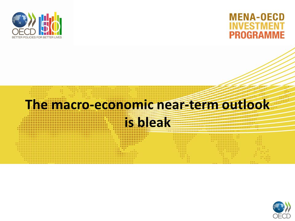 The macro-economic near-term outlook is bleak
