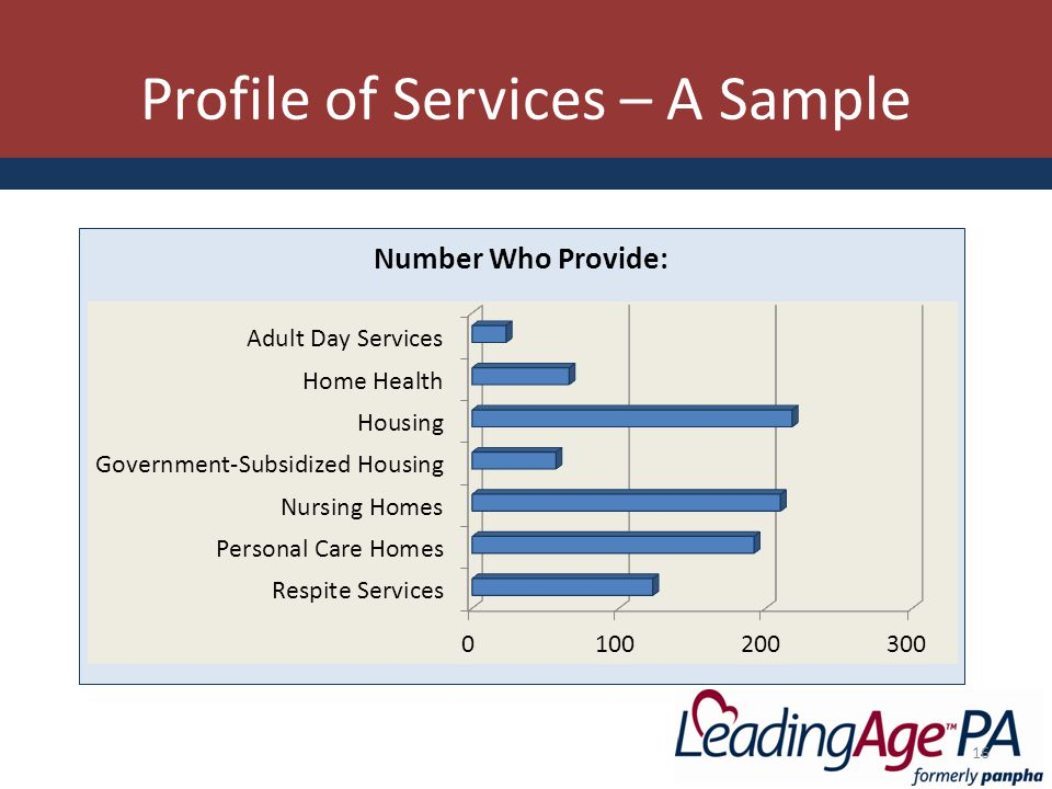 Profile of Services – A Sample 16
