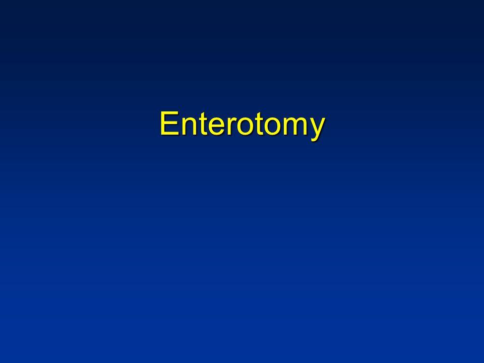 Enterotomy