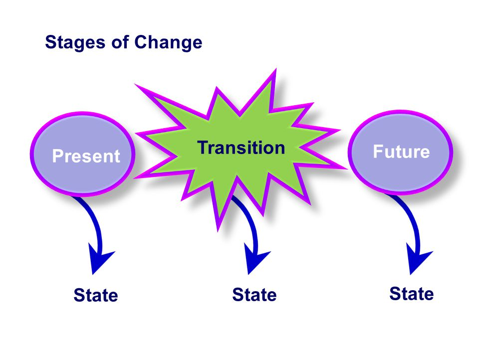 Present State Stages of Change Future State Transition State