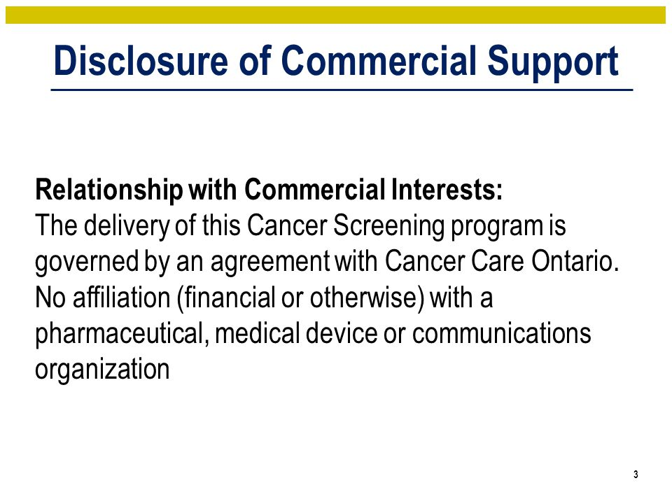 Prostate Cancer Screening No organized population-based screening program in Ontario for prostate cancer Most international and national screening guidelines recommend against population-based prostate cancer screening Why.