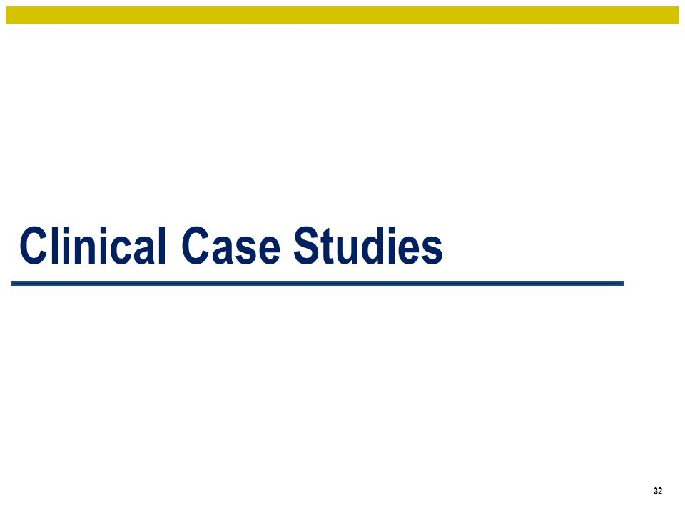 Clinical Case Studies 32