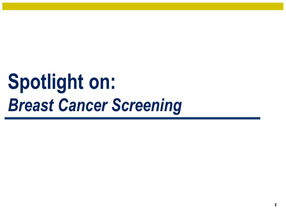 Screening Recommendations 9 Screening Modality Canadian Task Force on Preventive Health Care (2011) Mammography Women 40 to 49: Recommend not routinely screening Women 50 to 69: Recommend routinely screening Women 70 to 74: Recommend routinely screening Women aged 50 to 74: suggest screening every 2 to 3 years MRI Women aged 40 to 74 who are not at high risk for breast cancer: Recommend not routinely screening with MRI Women at high risk aged 30 to 69: Recommend annual screening with MRI (in addition to mammography) Canadian Task Force on Preventative Health: 21% reduction in mortality of Br Ca with regular mammo screening in 50-69 year old females