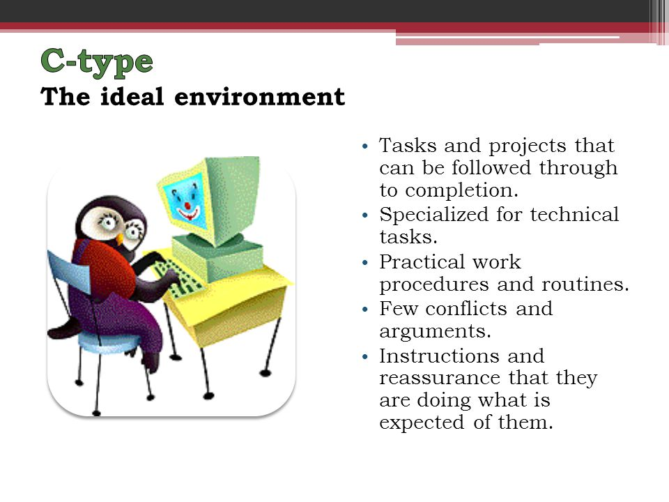 Tasks and projects that can be followed through to completion.
