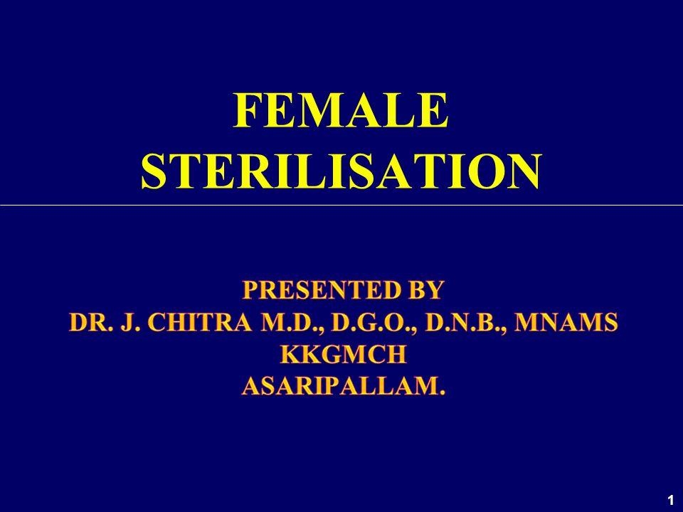 1 FEMALE STERILISATION
