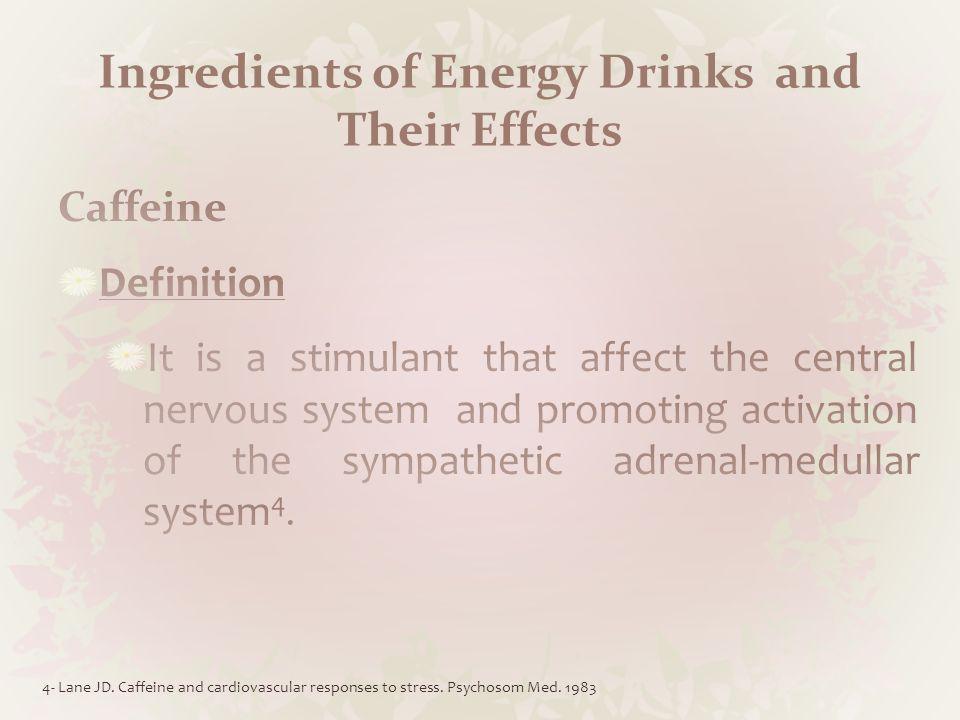 Caffeine Cont.5. POWER HORSE Energy Drinks GmbH [Internet].