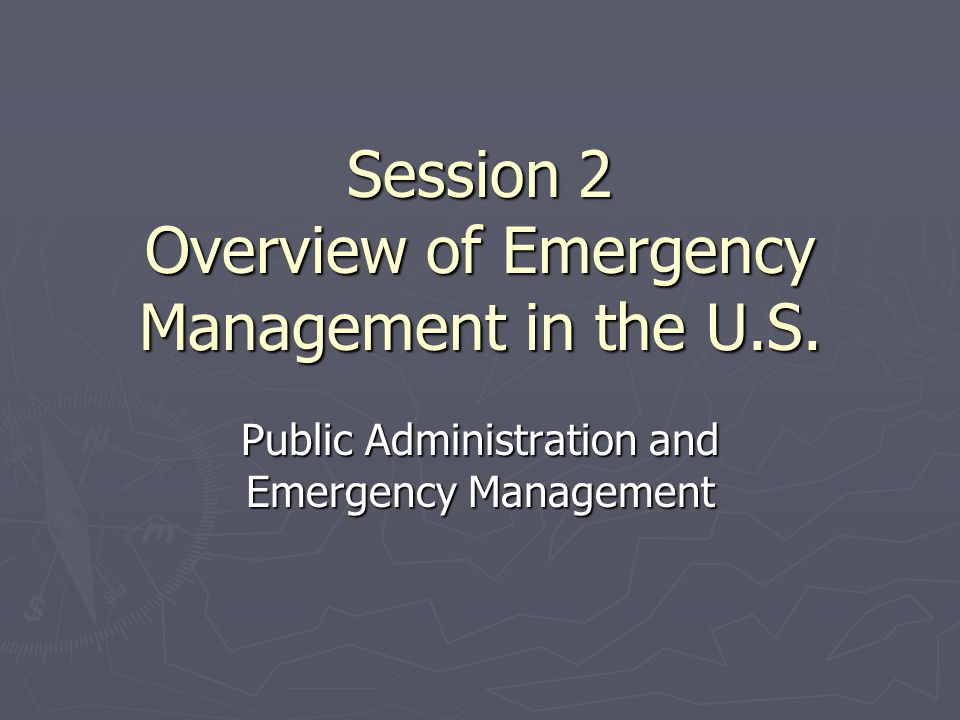 Organization of state and local emergency management offices Due to limited state and local funding, many local emergency management offices have a small staff.