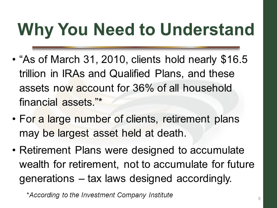 Fundamental Concepts MRD for year of death: If Participant had not yet taken the entire MRD for year of death, any remaining MRD must be taken by the beneficiary before the end of the year.