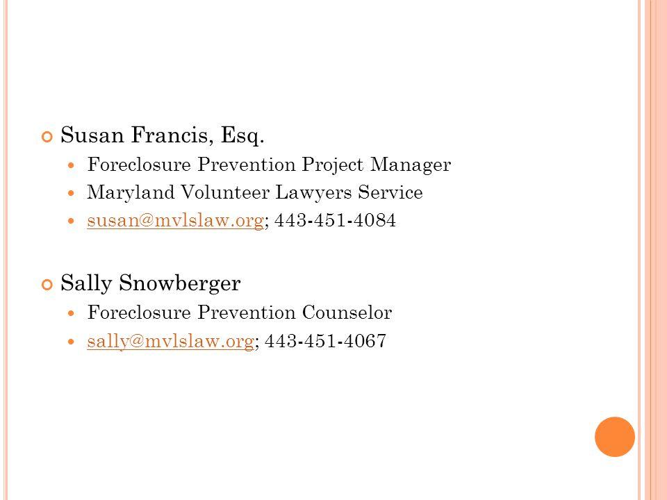 Susan Francis, Esq.