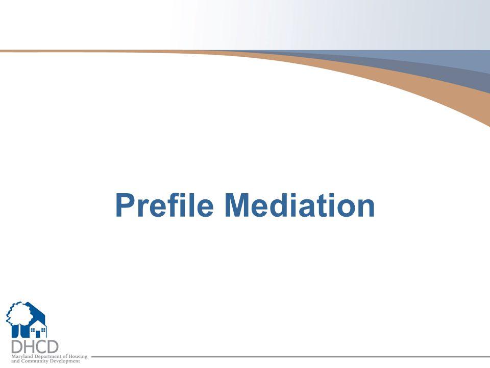 Prefile Mediation