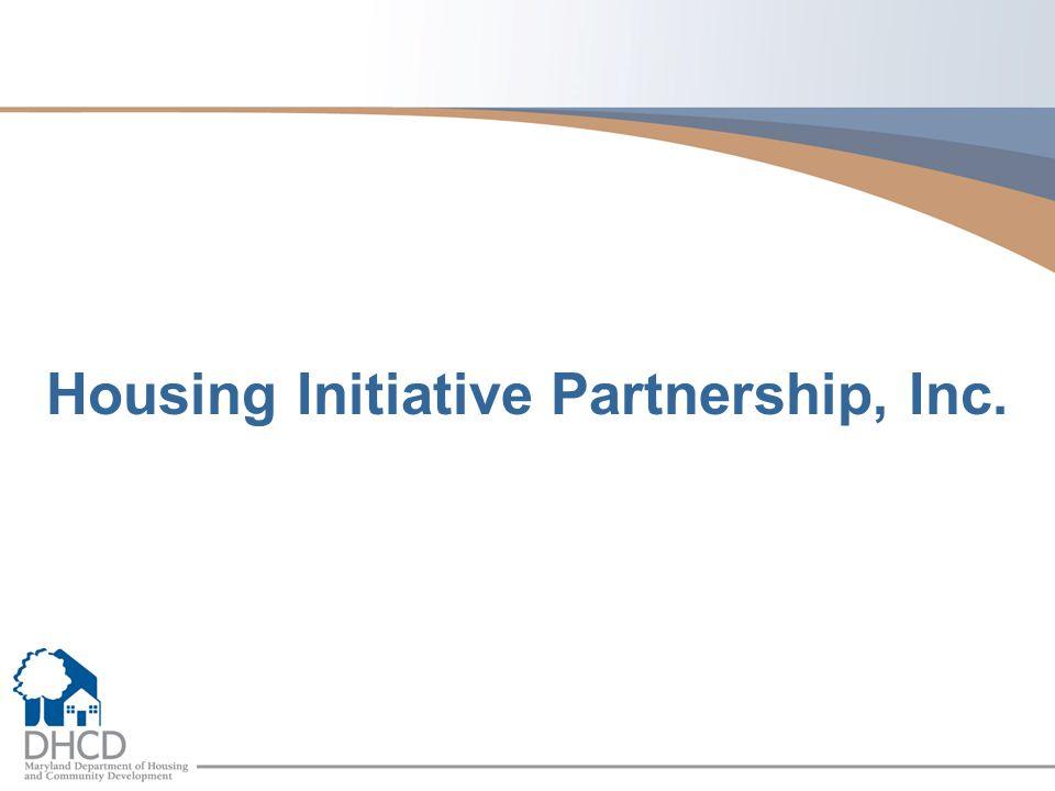 Housing Initiative Partnership, Inc.