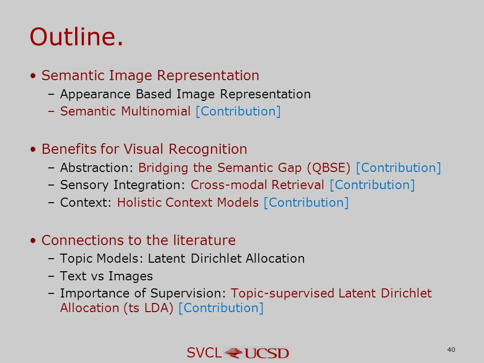 SVCL Outline.