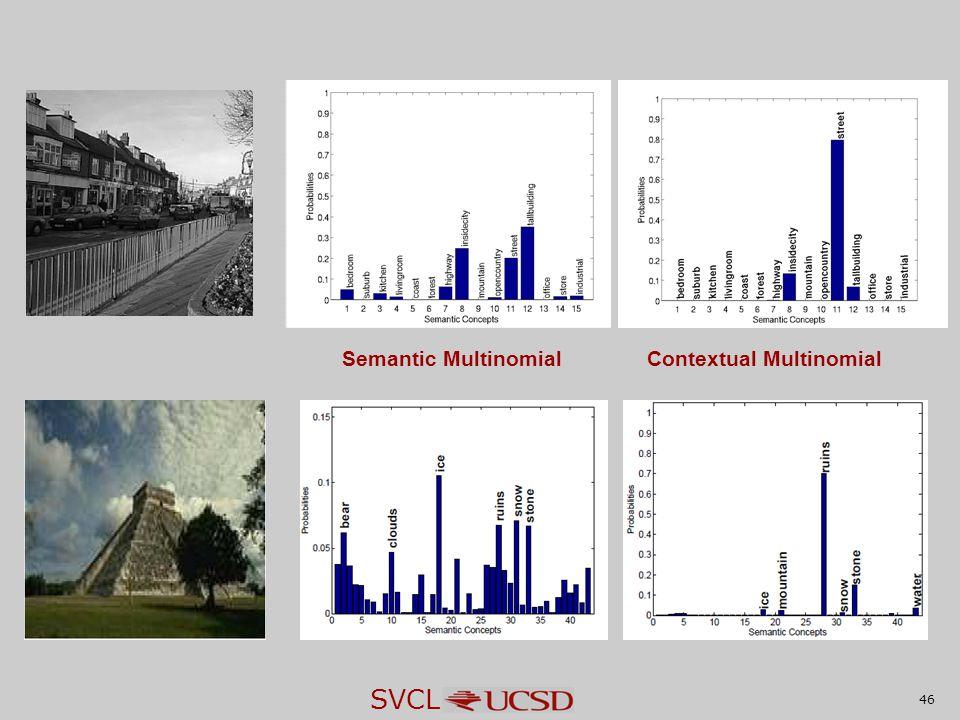 SVCL 46 Semantic MultinomialContextual Multinomial