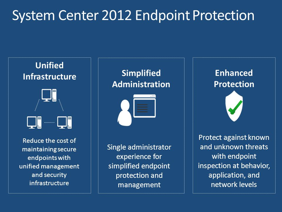 Exchange Connector Settings Management Software Updates + SCUPEndpoint Protection SWDOSD