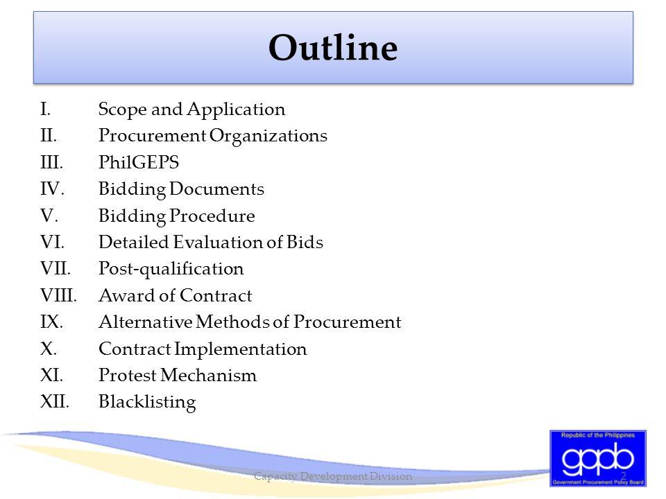 Alternative Methods of Procurement: Negotiated Procurement (Emergency Cases) GPPB Resolution No.