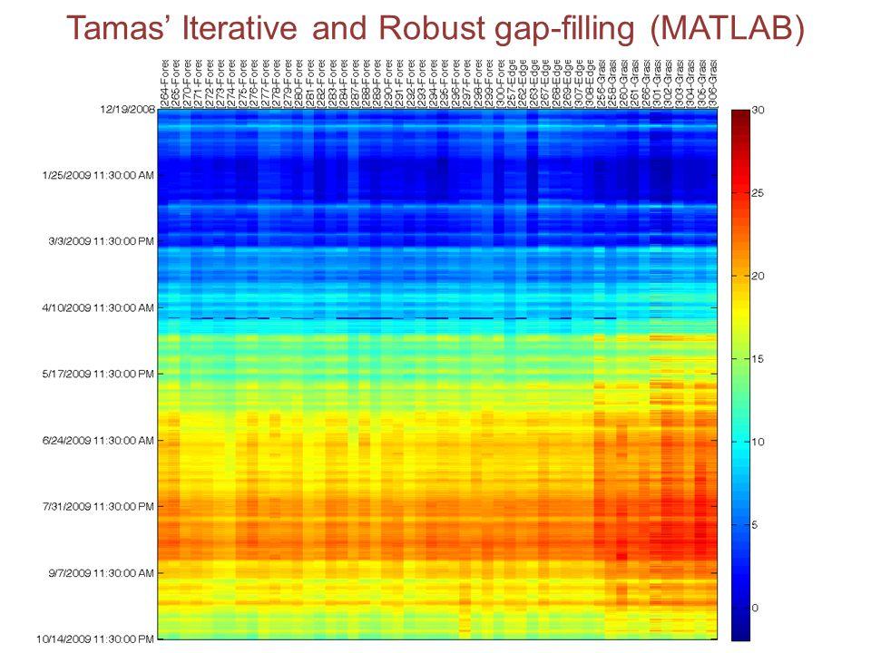 Tamas' Iterative and Robust gap-filling (MATLAB)