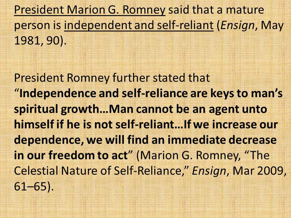President Marion G.