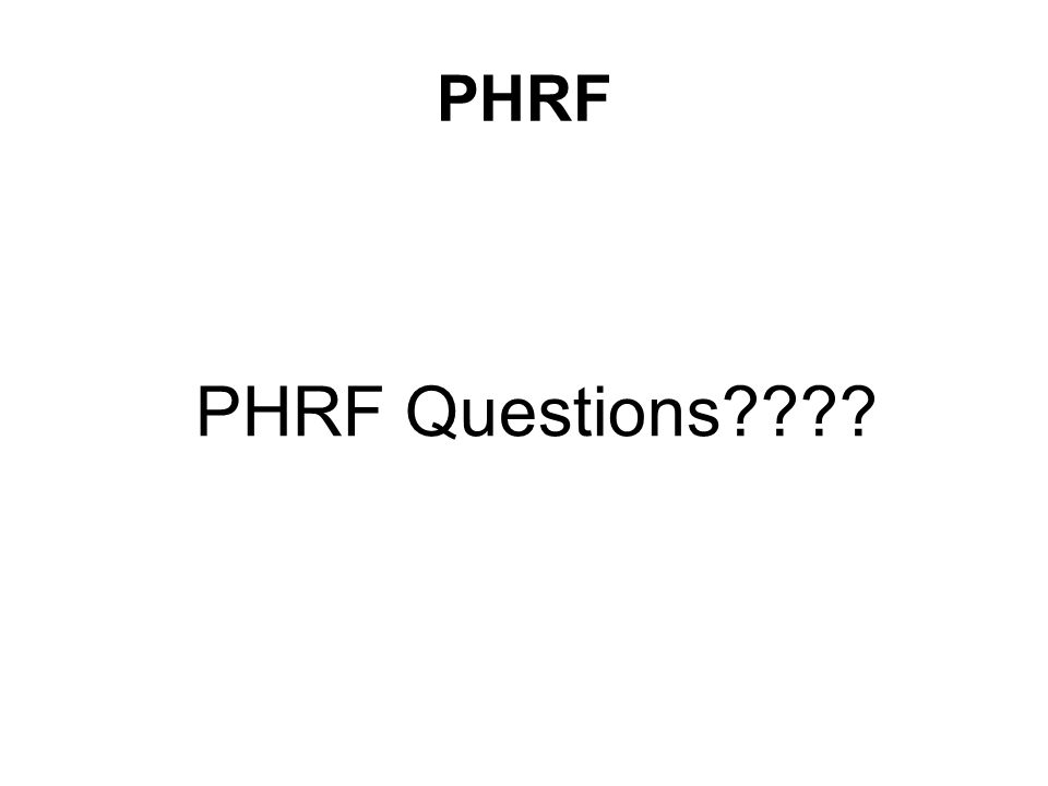 PHRF PHRF Questions????
