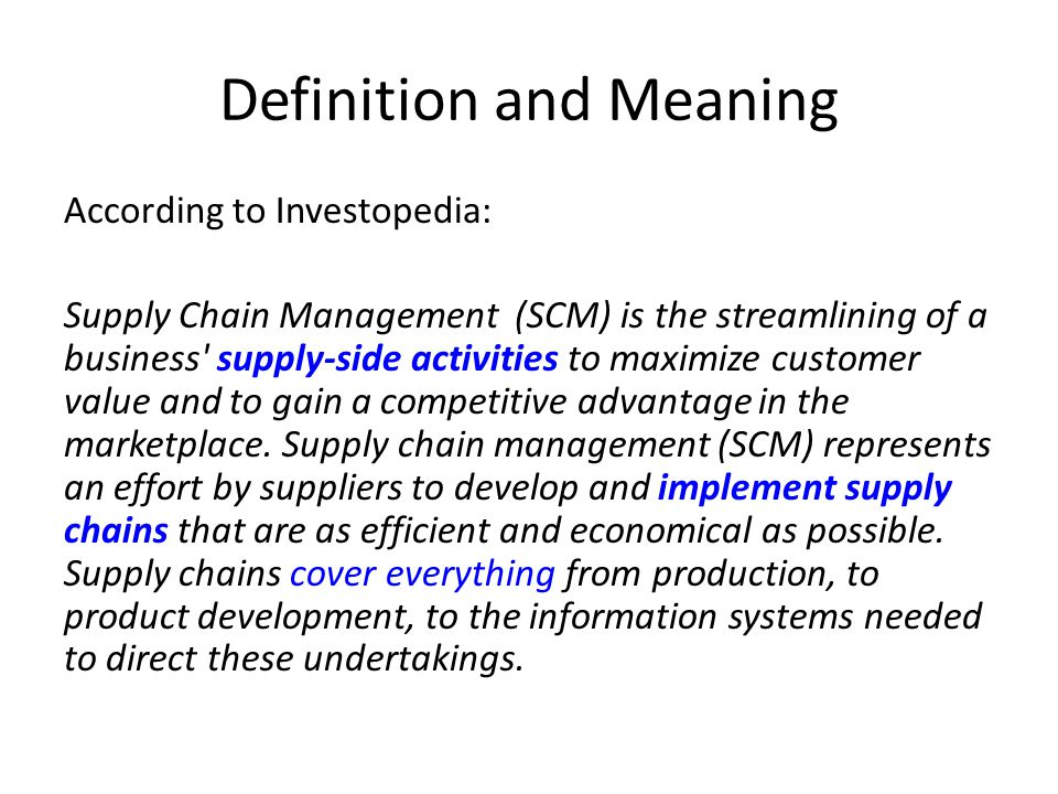Example: Agile Strategy Walmart uses cross-docking to actively respond to the latest store demand Cross docking is a logistics procedure where products from a supplier or manufacturing plant are distributed directly to a customer or retail chain with marginal to no handling or storage time.