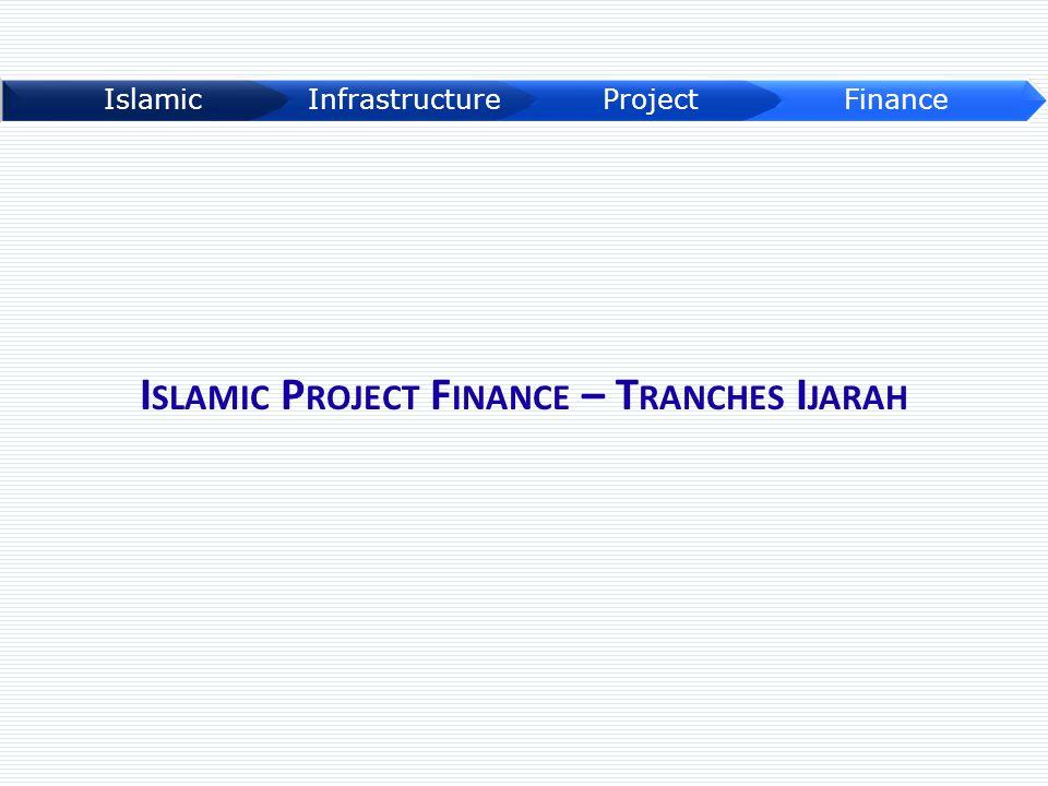 I SLAMIC P ROJECT F INANCE – T RANCHES I JARAH