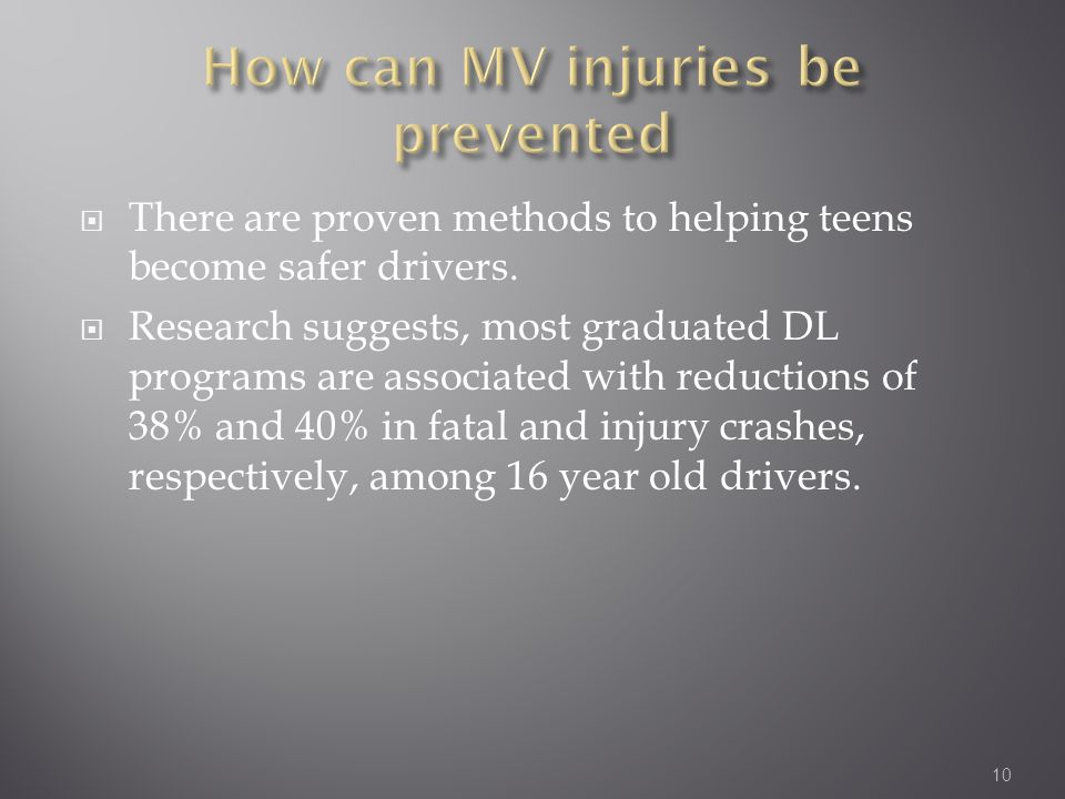  There are proven methods to helping teens become safer drivers.
