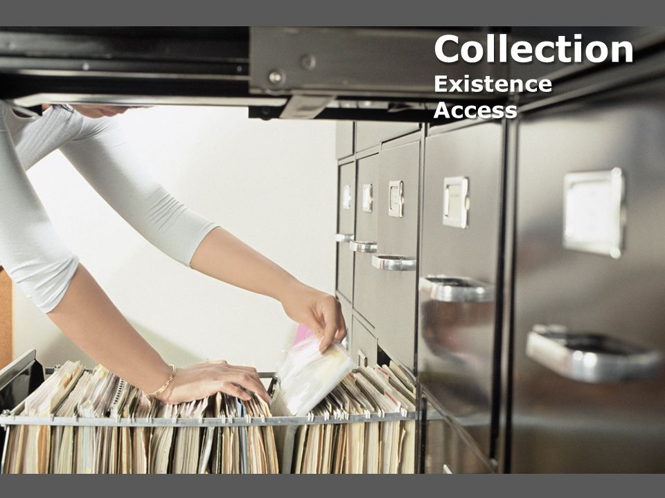 Collection Existence Access