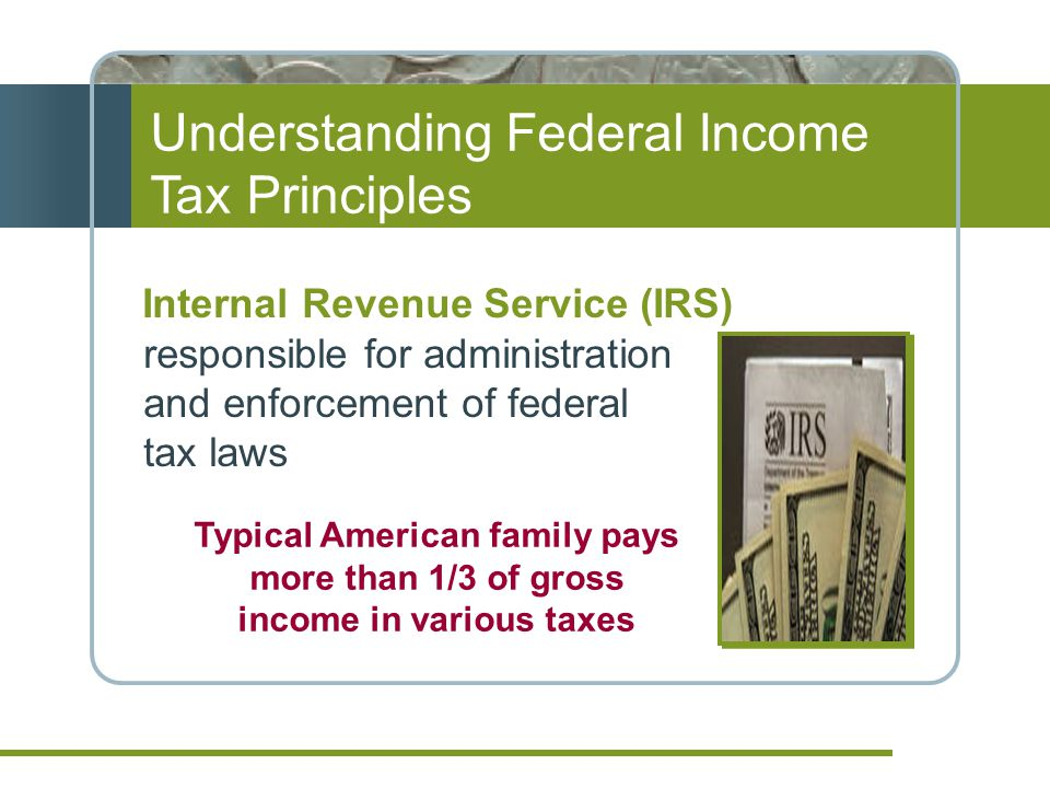 Economics of Income Taxes Progressive tax structure The larger the taxable income, the higher the tax rate As taxable income moves to a higher tax bracket, the higher rate applies only to the additional taxable income