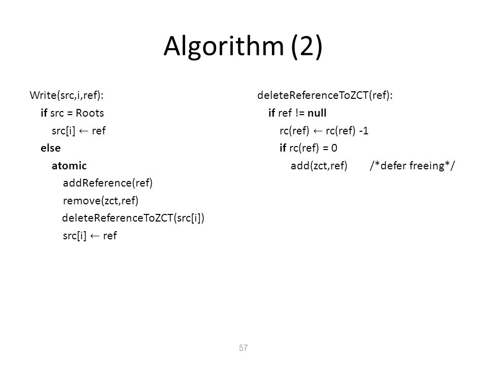 Algorithm (2) 57