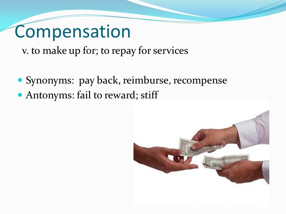 Compensation v.