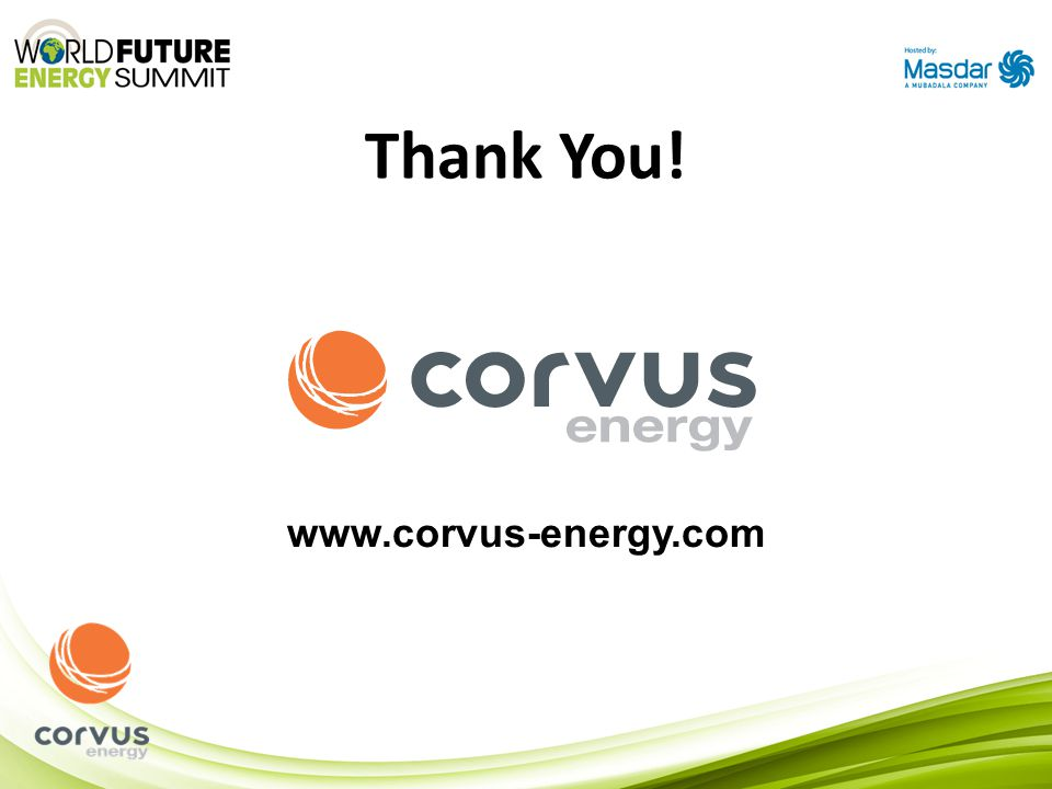 Thank You! www.corvus-energy.com