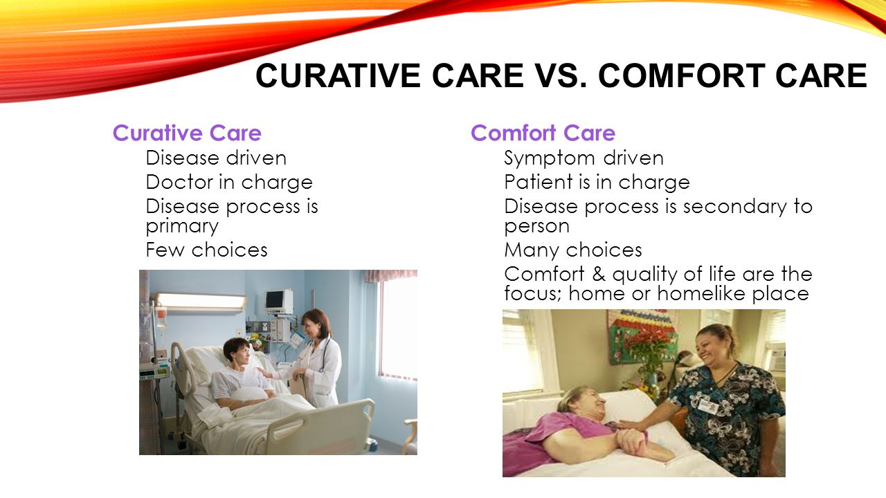 CURATIVE CARE VS.