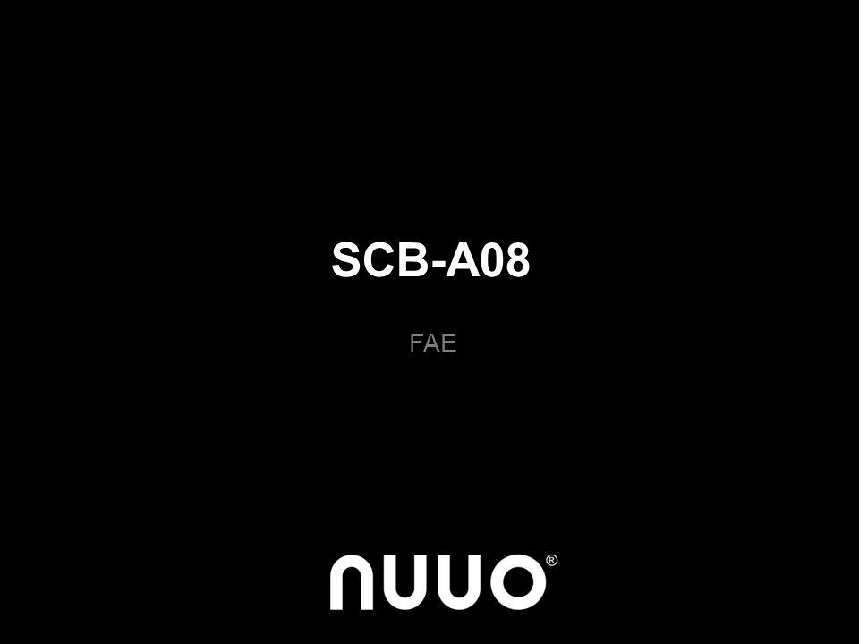 SCB-A08 FAE