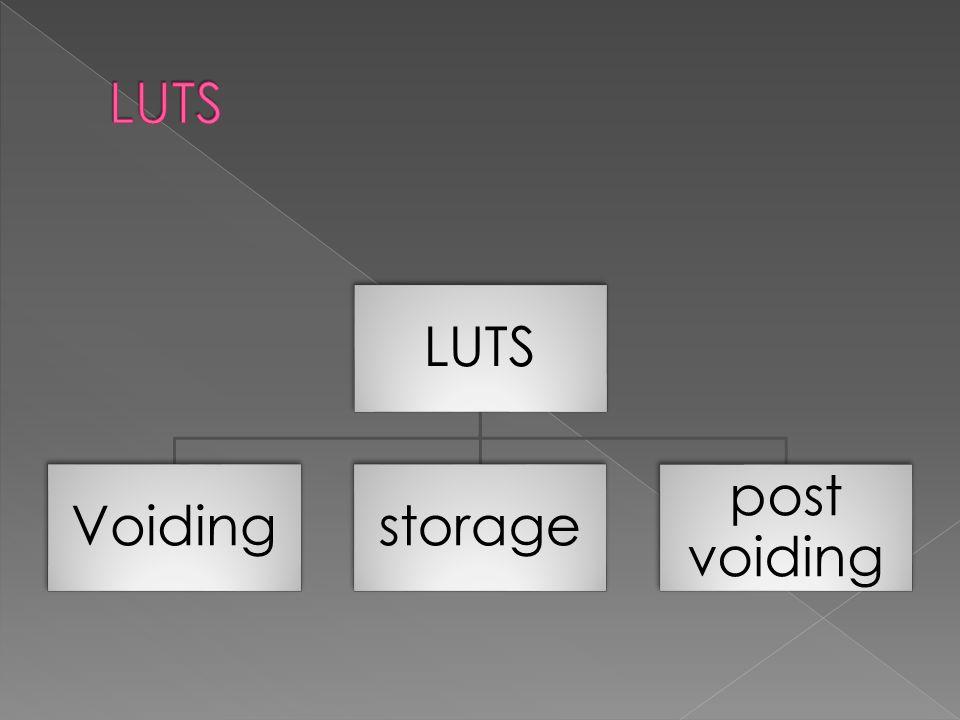 LUTS Voidingstorage post voiding