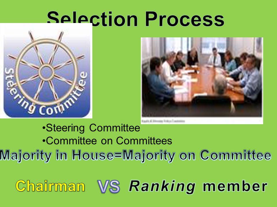 Steering Committee Committee on Committees