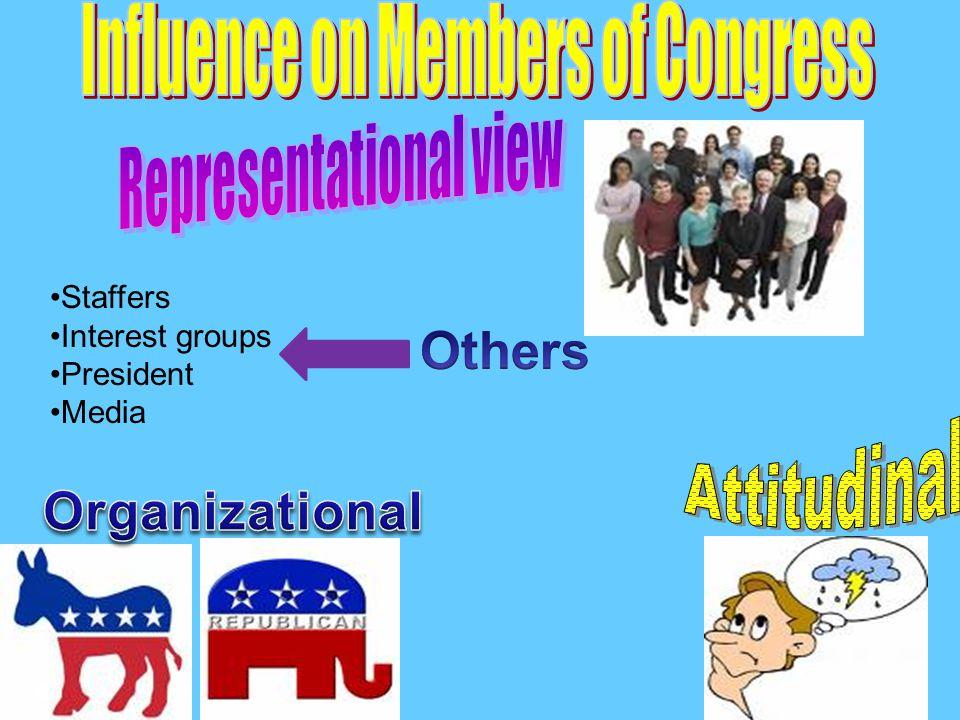 Staffers Interest groups President Media
