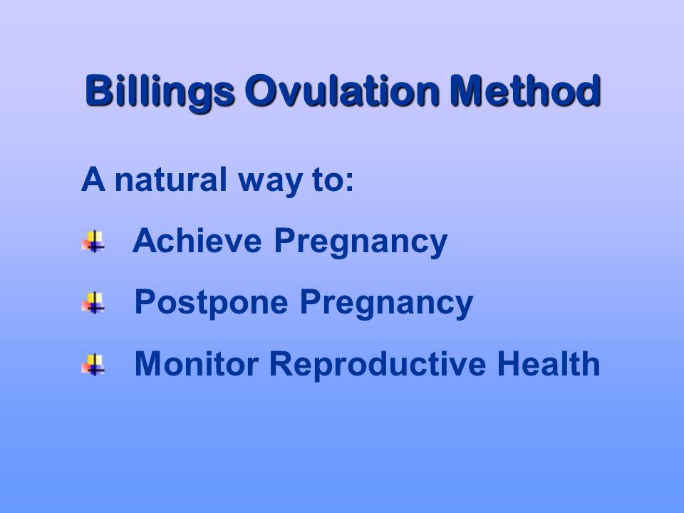 Billings Ovulation Method Natural Fertility Regulation