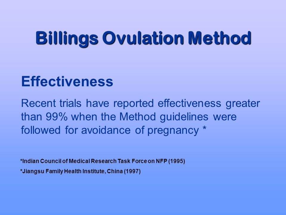 Billings Ovulation Method 3 Early Day Rules Peak Rule 4 Rules Can be used throughout all stages of reproductive life