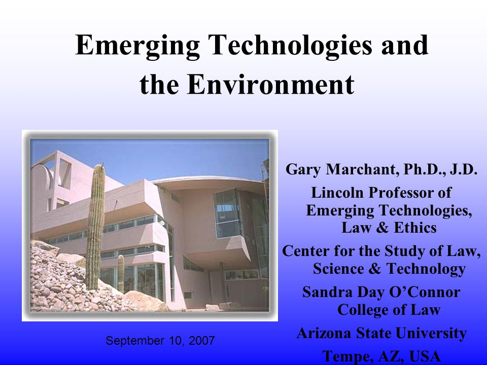 Nano & Environment: Opportunity and Challenge l For EPA, the rapid development of nanotechnology and the increasing production of nanomaterials and nanoproducts present both opportunities and challenges.