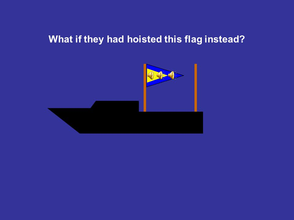 Oh my gosh! Is the X-flag for you?