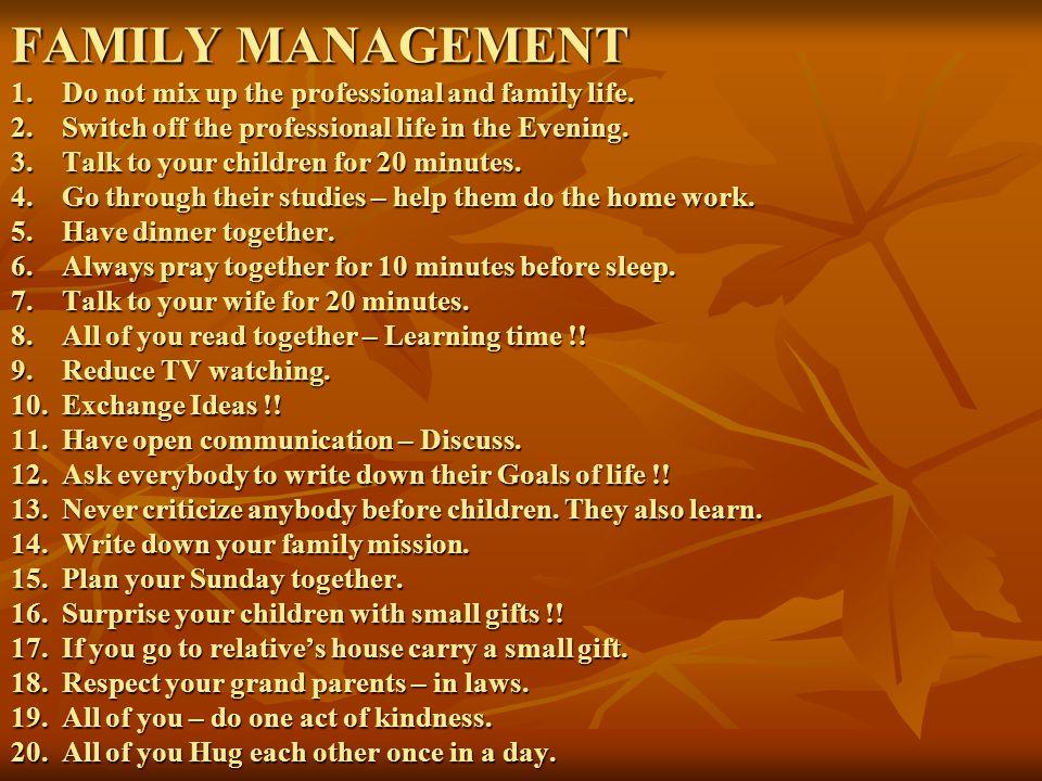 CHILDREN MANAGEMENT 1.Children are more 'creative' than us.