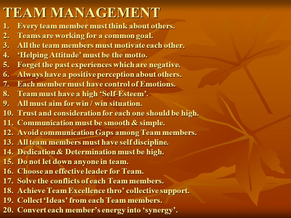 LEADERSHIP MANAGEMENT 1.All good leaders are good managers.